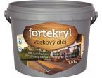 FORTEKRYL voskový olej 1,8kg teak