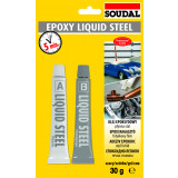 EPOXY LIQUID STEEL 2x15ml
