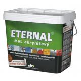 ETERNAL mat akrylátový 10 kg tmavě hnědá 09