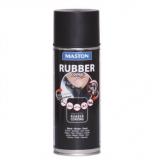 Maston Sprej RUBBERcomp černý matný -  ochranný snímatelný gumový nástřik