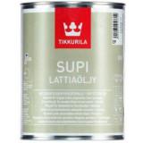 Tikkurila Supi Floor Oil (Lattiaöljy) podlahový olej pro sauny a vlhké místonsti 0,9L