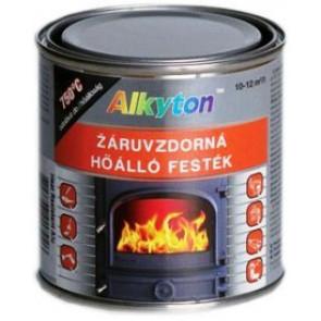 Alkyton žáruvzdorná vypalovací kovářská černá barva  2,5L