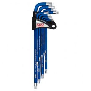 RAXX profesional sada TORX klíčů imbus TX10-50, 9 dílná