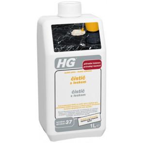 HG čistič s leskem pro přírodní kámen (lesklá péče pro mramorové podlahy) (HG výrobek 37)
