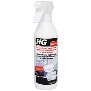 HG každodenní hygienický sprej na příslušenství v okolí toalety