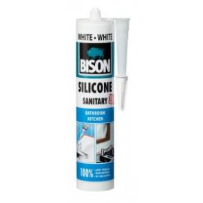 BISON SILICONE SANITARY WHITE 280 ml