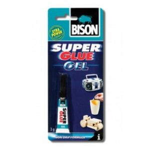 BISON Super Glue Gel 3 ml
