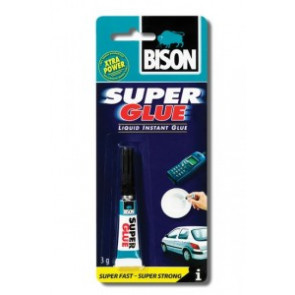 BISON Super Glue 3 ml