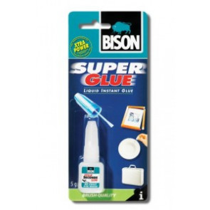 BISON Super Glue with Brush 5 ml