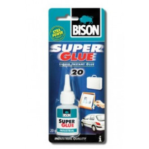 BISON Super Glue Industry 20 ml
