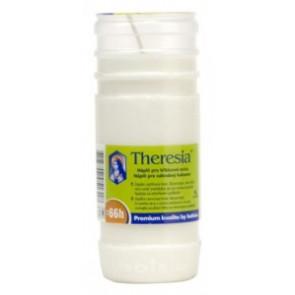 Theresia vklad 210g 66h. bílá litá