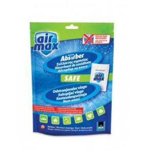 Pohlcovač vlhkosti v sáčku AIR MAX SAFE 100 g