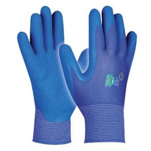 GEBOL 709705 dětské pracovní rukavice Kids 5-9 let modré, SB