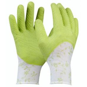 GEBOL 709802 pracovní rukavice Green vel.7 Flower Garten SB