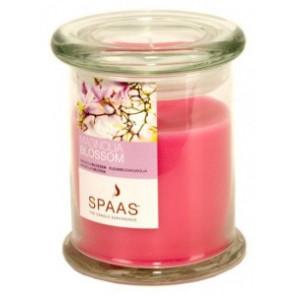 Spaas Sklo 90x110 Magnolia Blossom s víčkem vonná svíčka