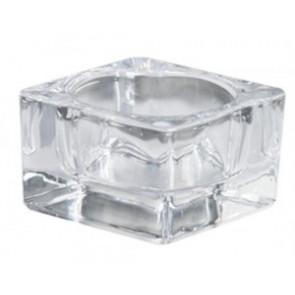 Svícen Masiv sklo 49x77mm na MAX čaj.svíčku čirý