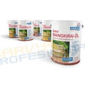 Aidol Gartenholz ,zahradní Olej 0,75L- Bankirai  Olej pro dřevěné terasy a zahradní nábytek