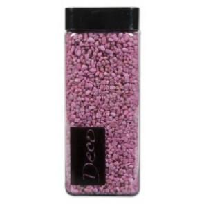Štěrk 550ml dekorativní 2-3mm 825g světle růžová