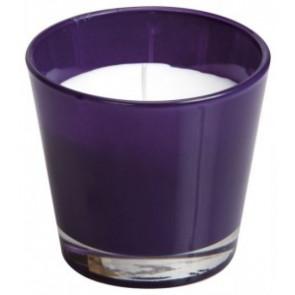 Spaas Sklo 90x80 fialová svíčka