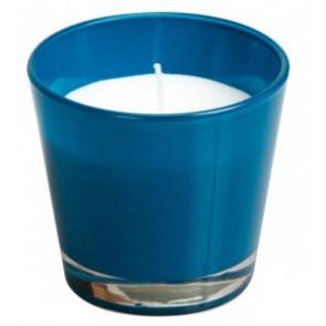 Spaas Sklo 90x80 tyrkysová modrá svíčka