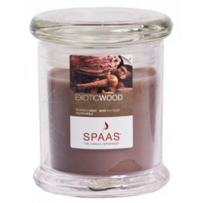 Spaas Sklo 78x93 Exotic Wood s víčkem vonná svíčka