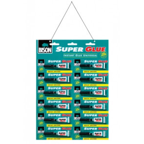 BISON SUPER GLUE LIQUID 2 ml
