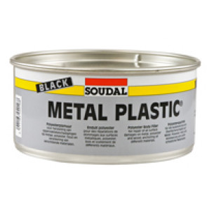 METAL PLASTIC BLACK