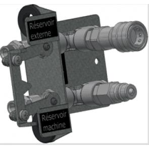 MASTER Quick konektor pro připojení externí palivové nádrže