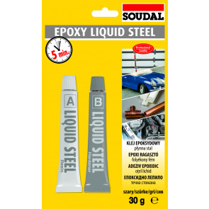 EPOXY LIQUID STEEL 2x15ml