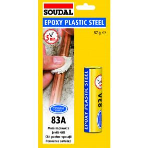 EPOXY PLASTIC STEEL 83A 57g