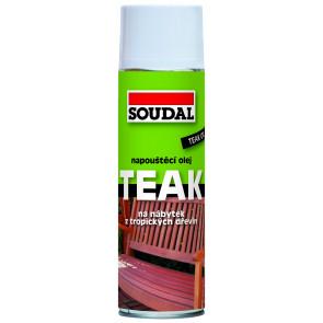 TEAK napouštěcí olej transparent 2,5l