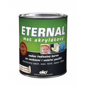 ETERNAL mat akrylátový 0,7 kg tmavě zelená 022
