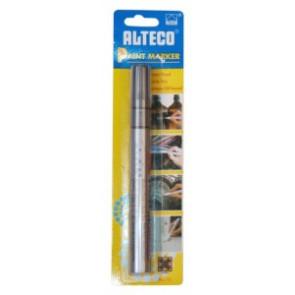 Popisovač ALTECO Paint Marker stříbrný