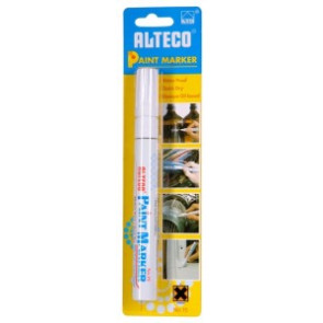 Popisovač ALTECO Paint Marker bílý