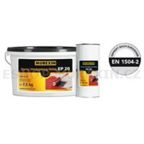MUREXIN Nátěr uzavírací epoxidový barevný EP 20 složka A šedá RAL 7032 7,5 kg