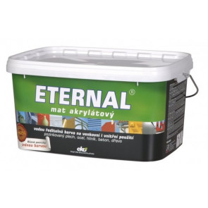 ETERNAL mat akrylátový 5 kg tmavě zelená 022