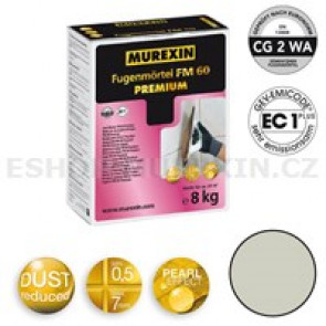 MUREXIN Spárovací malta  FM 60 Premium 8 kg manhattan