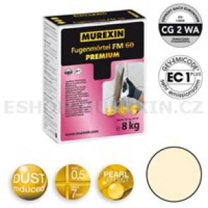 MUREXIN Spárovací malta  FM 60 Premium 8 kg sand