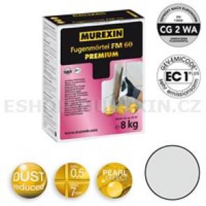 MUREXIN Spárovací malta  FM 60 Premium 8 kg stříbrošedá