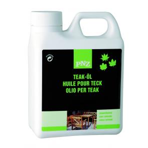 PNZ Olej na teakové dřevo přírodní  1 l