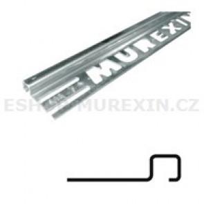 MUREXIN Profil ukončovací čtyřhranný - bílý 9 mm