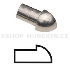 MUREXIN Profily oblé - koncové prvky MRE 10 Al  přírodní elox