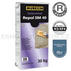 MUREXIN Repol sanační malta SM 40 30kg
