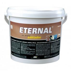 ETERNAL na dřevo základní 5 kg bílá