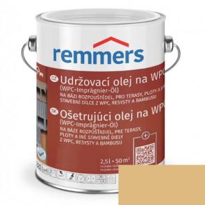 REMMERS Udržovací olej na WPC BEZBARVÁ 2,5L