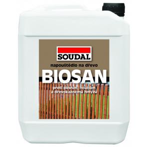 BIOSAN ochranné napouštědlo zelená 5kg