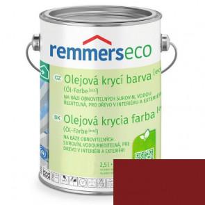 REMMERS OLEJ.KRYCÍ BARVA [ECO] ČERVENOHNĚDÁ 2,5L