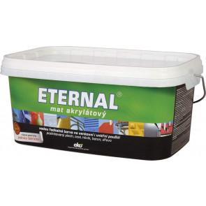 ETERNAL mat akrylátový 2.8 kg tmavě hnědý 09