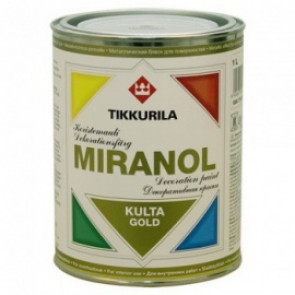 MIRANOL DECORATIVE GOLD PAINT 0,1 L
