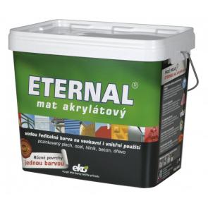 ETERNAL mat akrylátový 10 kg červenohnědá 07